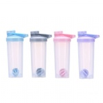 protein shaker cup 700ml bottle with button