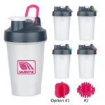 Promotional Portable 400ML Protein Shaker Cup