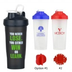 Promotional Personal Portable 600ML Shake Cup Protein Shaker Bottle Blender