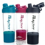 850ml Drinking Water Bottle Drinkware Type Plastic Sports Protein Shaker