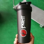 600ml black protein shaker bottle ,Blender Bottle