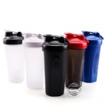 BPA Free sport custom logo design plastic gym protein shaker bottle