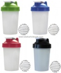 500ml custom logo shaker bottle smart shaker cup