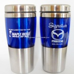16oz 450ml Double wall stainless steel travel mug/auto mug/thermo coffee mug