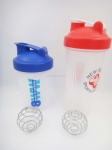protein shaker bottle with Stainless Steel Blender Ball