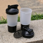 Plastic PP custom logo shaker bottle