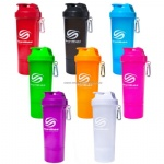 Smart Shake Slim 17 oz.Neon Shaker Bottle
