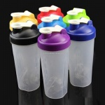 protein shaker with blender ball shake bottles BPA FREE