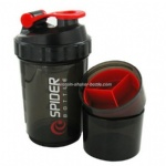 spider protein powder shaker for fitness 3 layers in 1