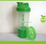 Shaker bottles cocktail shaker with strainer 500ml