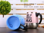 450ML Automatic Electric Stainless Steel Coffee Mixing Cup Self Stirring Mug