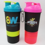 Blender custom logo shaker bottle 22 oz