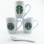 custom logo printed ceramic cup,ceramic coffee cup