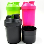 Easy carry PE detachable blender bottles wholesale 400ml/16oz