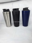 25oz stainless steel sport bottle protein shaker bottle