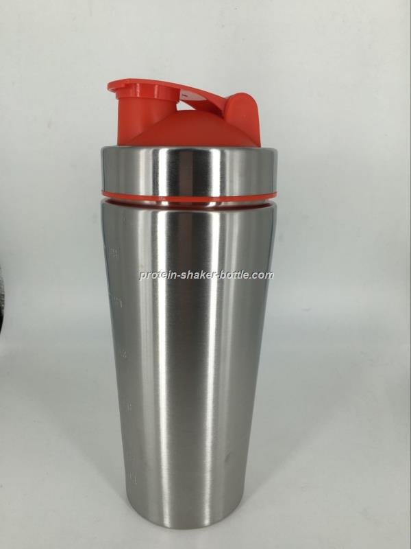 600ML Stainless Steel Protein Shaker