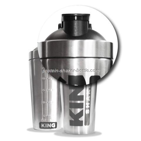 Customized stainless steel shaker bottle