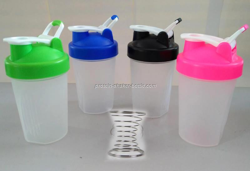 Protein Shaker bottle with spring ball