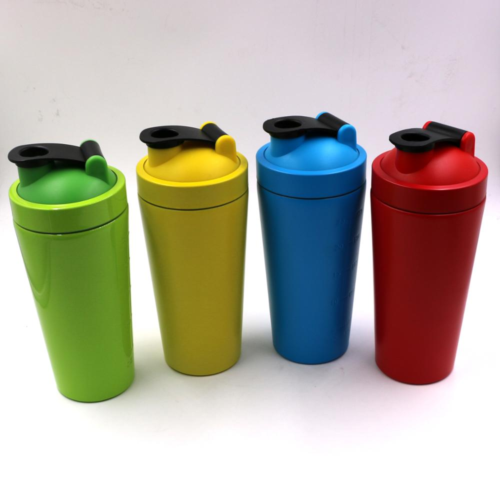 customized wholesale whey protein shaker bottle
