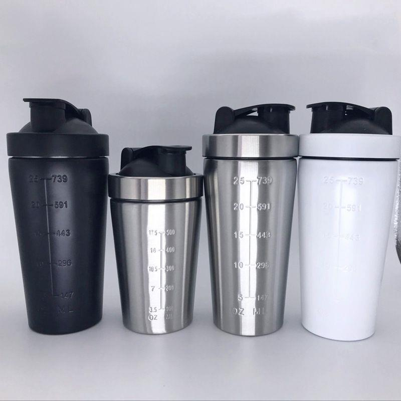 Custom Metal Protein Shaker,304 Stainless Steel Insulated Shaker Bottle