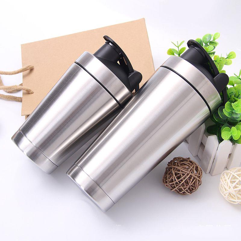 wholesale stainless steel blender shaker bottle