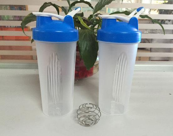 Custom Logo Protein Shaker Blender Mixer Bottle Sport