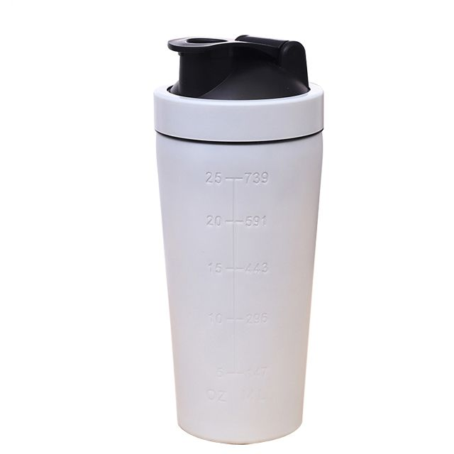 750ml 304 stainless steel shaker bottle
