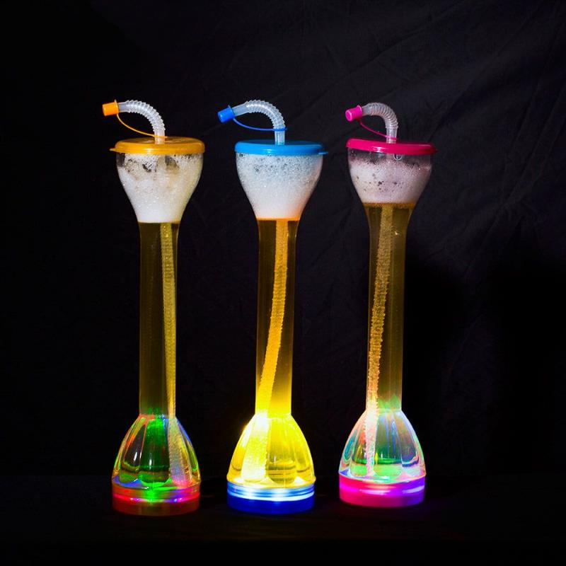 Led Yard Cup Flashing Yard Glass Slush cup