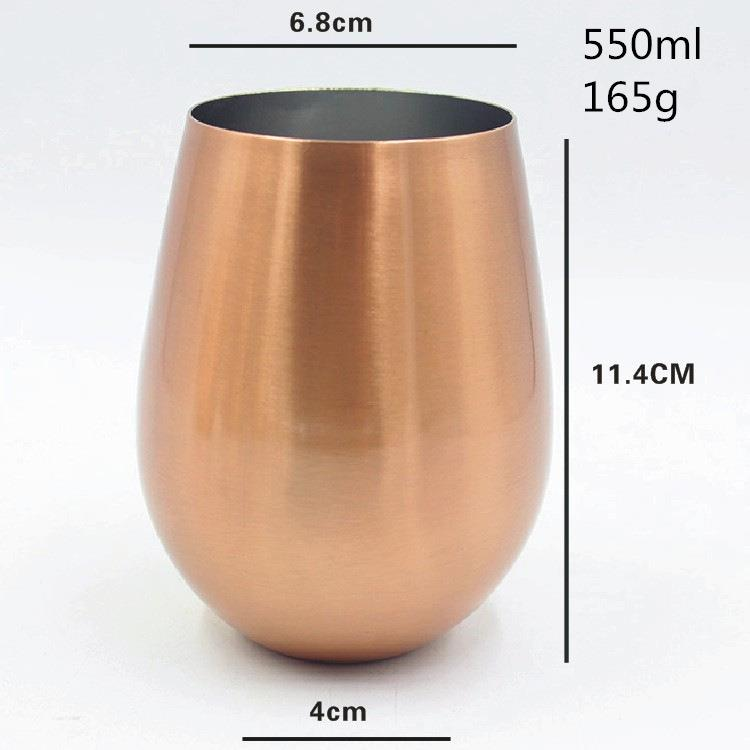 550ml Drinking Cup For Beer And Wine