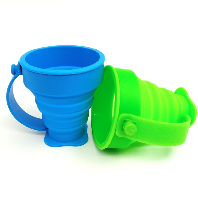 Custom Water Drink Silicone Collapsible Cup