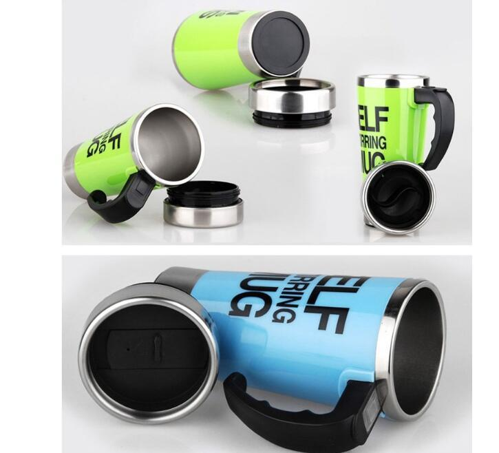 Mug Stainless Steel Self Stirring Mug Drinkware Special Creative Gift 500ml