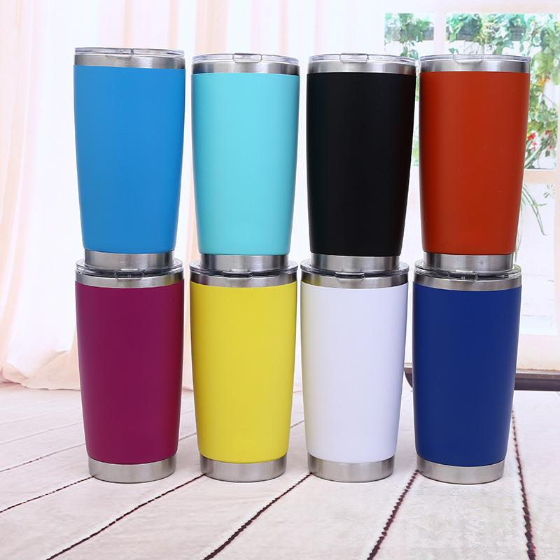 Double Wall Vacuum Insulated Stainless Steel Travel Tumbler Cu
