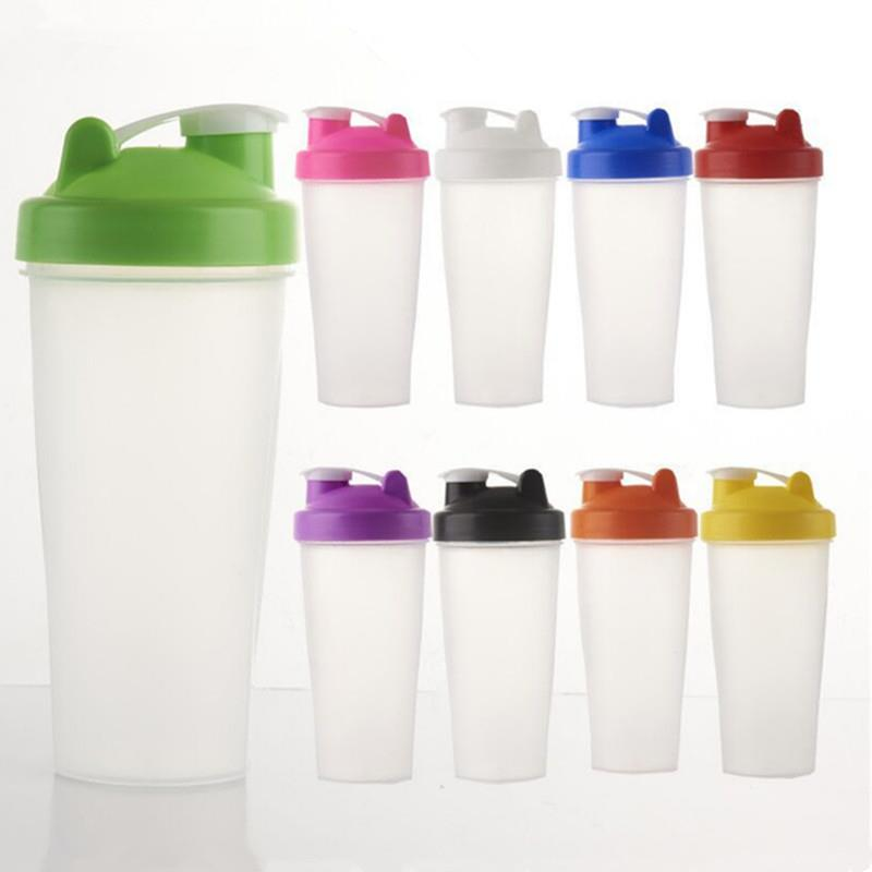 400ml bpa free plastic bottle with stainless steel ball