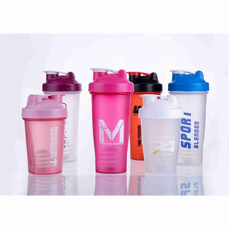 Wholesale hot selling BPA free plastic protein powder shaker