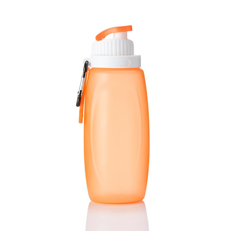 Silicone Folding Squeeze sport Water Bottle