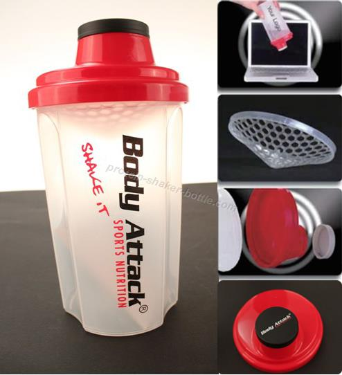 700ml protein shaker bottle BPA FREE