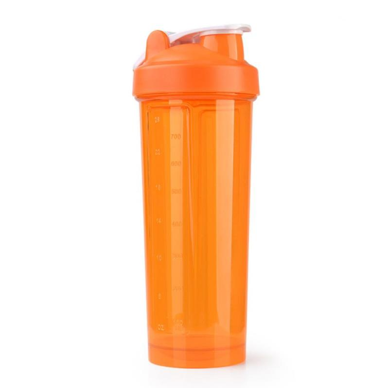 700ml Sports Gym Classic Loop Top Protein Fitness Shaker Sport Bottle