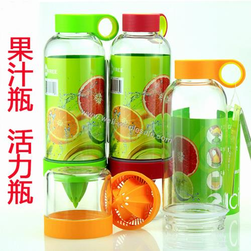 Vitality Juice Source Bottle Lemon Cup