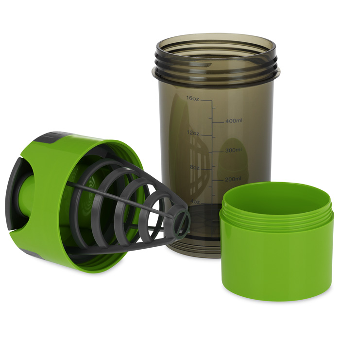 600ml cyclone cup blender mixer bottle