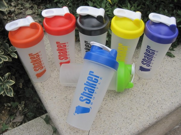 600ml protein shaker with blender ball