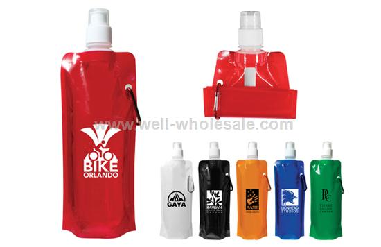 PE+PA+PET Eco-friendly Foldable Drinking Bottle