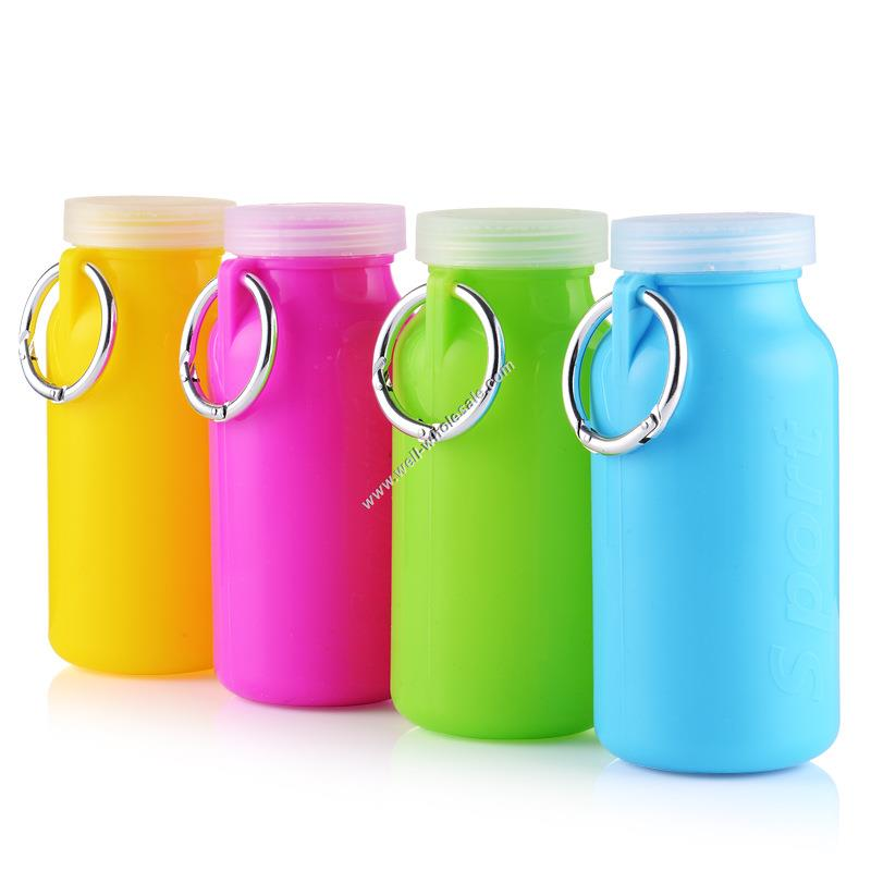 Foldable Silicone Collapsible Water Bottle