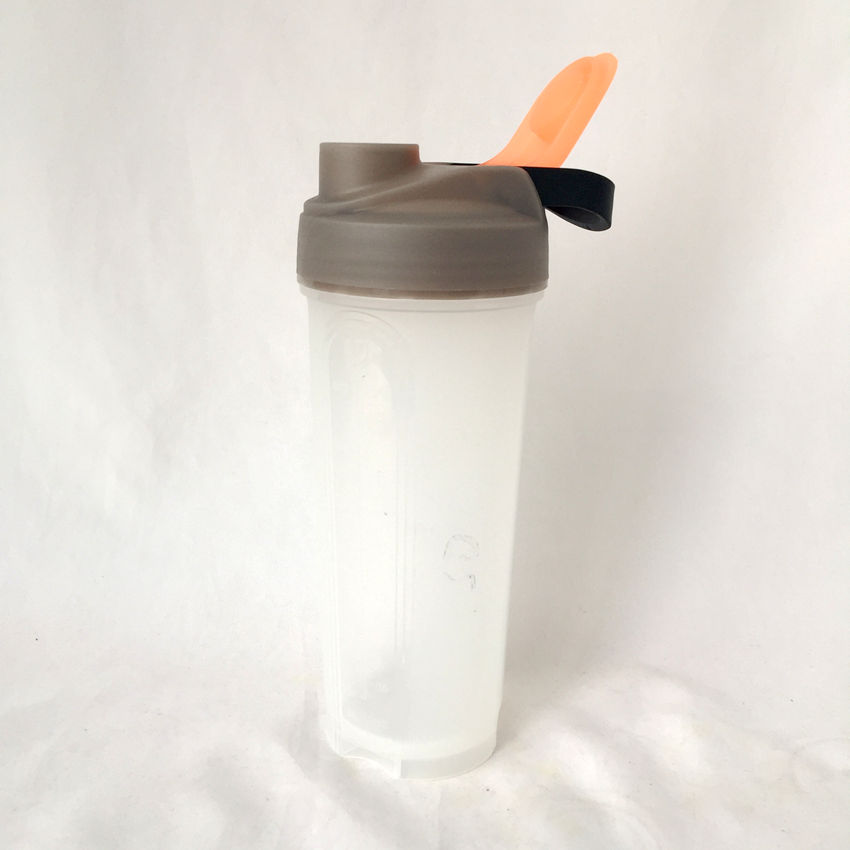 new design the most popular plastic protein shaker bottle