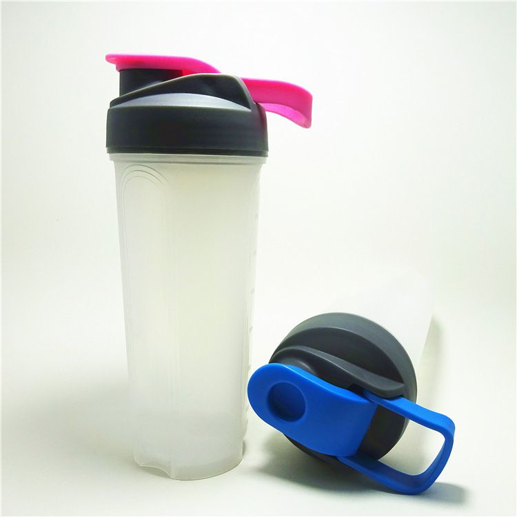 Plastic Protein Powder Shaker Bottle