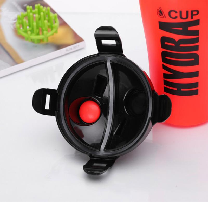 dual shaker bottle cup sport water bottle