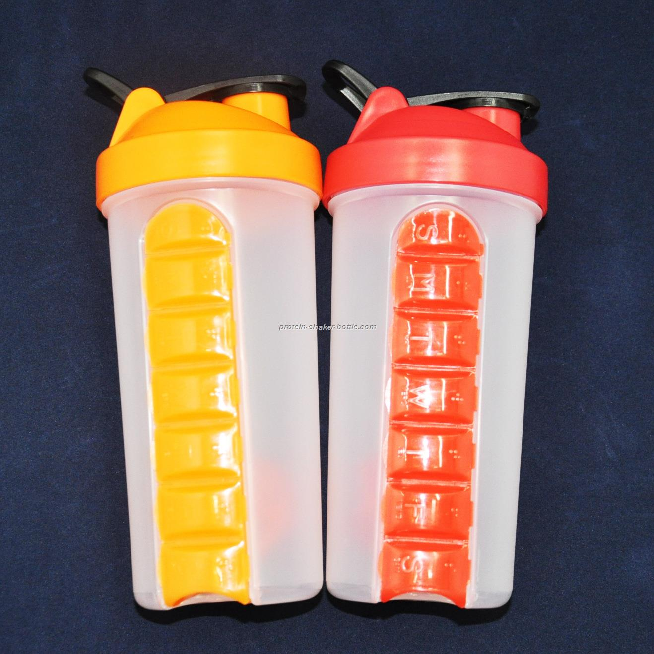 Pill Box shaker bottles