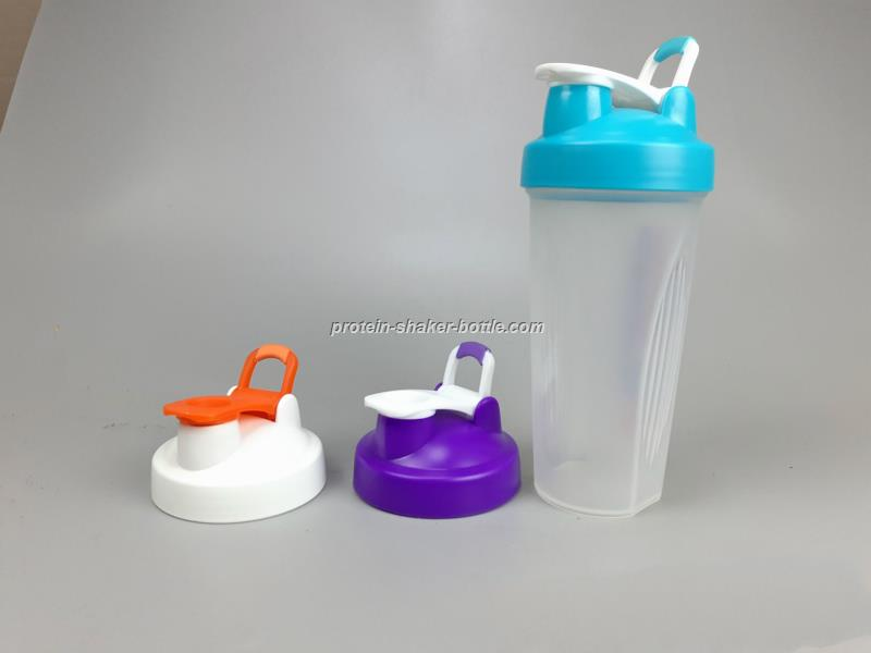 BPA free 400ML 600ML Custom PP Protein Shaker Bottle