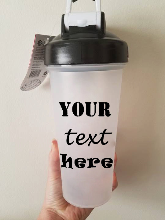 Customized/Personalized 28 Ounce Gym Shaker Bottle