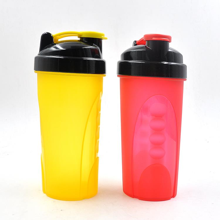 Protein Shaker Bottle custom color & logo BPA free 400ml and 600ml shaker bottle