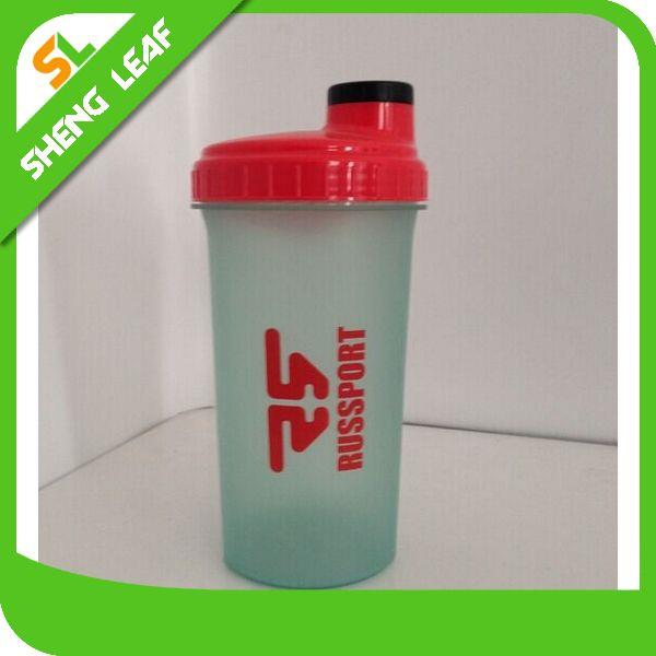 2016 New Products Plastic Protein Shaker Water Bottle Plastic Bottle BPA Free Factory
